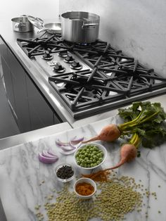 BlueStar Cooktop Series delivers professional power and performance for the home chef with minimal kitchen space. The perfect accompaniment to a BlueStar gas wall oven.