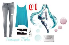 """""""Casual Miku"""" by pastelmonster ❤ liked on Polyvore featuring Dondup, WearAll, TOMS, Topshop, DB Designs, MICHAEL Michael Kors and HatsuneMiku"""