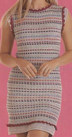 Ivelise Feito à Mão: Vestido Com Fitas Coloridas! Uma Peça Diferente....