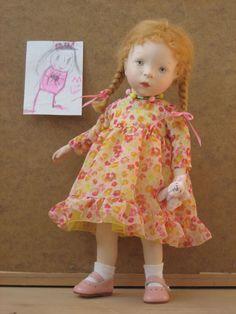Sylvia Natterer KINDERGARTEN (Ger) collection doll, 2007