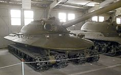 Object 279 (Объект 279) /The tank was equipped with the powerful 1000 hp 2DG-8M diesel engine, enabling the 60 metric ton tank to attain 55 km/h speed, with active range of 300 km on one refuel. It also had auto fire-fighting systems, smoke laying equipment and a combat compartment heating/cooling system.