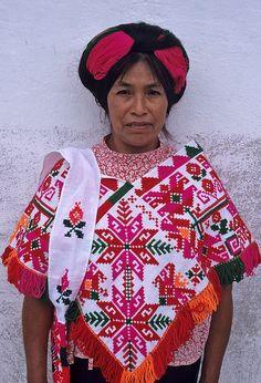 Huastec Woman by Ilhuicamina, via Flickr