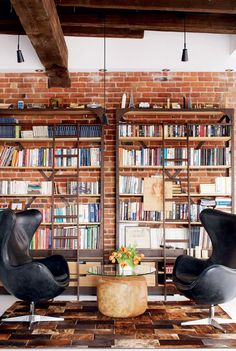 Old Fire Station Turned into Dashing Modern Industrial Loft in Montreal. - Home Decor