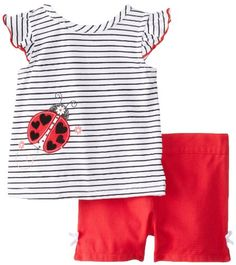 Kids Headquarters Baby-Girls Infant Black and White Top with Shorts Lady Bug, Red, 18 Months Kids Headquarters http://www.amazon.com/dp/B00EP9CFWS/ref=cm_sw_r_pi_dp_e9XMtb1397ND9WQE