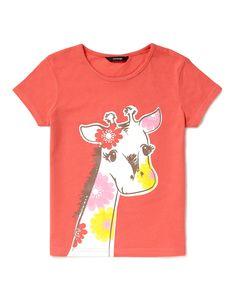 Giraffe Print T-Shirt | Girls | George at ASDA