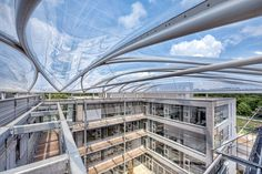 DWI Aachen – ETFE cushion roof - {{page::rootPageTitle}} - Temme Obermeier | Experts for Membrane Building