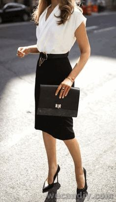 Stunning Work Outfits Ideas For Women #WomenOutfits #WomenWorkOutfits #WorkOutfits
