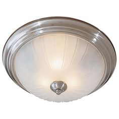 Minka Lavery ML 829 2 Light Flush Mount Ceiling Fixture