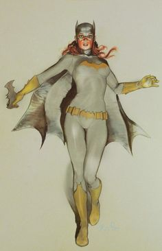 Wow, this pushes my buttons on so many levels. Comicgeekery, sexygirlery, classic pinup art style. Most impressive.