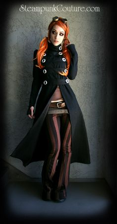Steampunk - everything about this outfit! #fashion #style