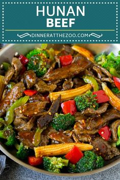 Hunan Beef Recipe Beef Stir Fry beef stirfry dinner broccoli dinneratthez Dinner at the Zoo Recipes Beef Hunan Beef Recipe Beef Stir Fry beef stirfry dinner broccoli dinneratthez Dinner at the Zoo Recipes Beef nbsp hellip recipes stirfry Sliced Beef Recipes, Homemade Chinese Food, Healthy Chinese Recipes, Spicy Recipes, Healthy Meals, Beef Stir Fry Sauce, Asian Beef Stir Fry, Spicy Asian Beef, Steak Stir Fry