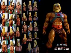 Barbarian He-man work in progress. several days and layers of colours, almost finished!