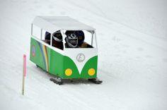 The VW van sled make
