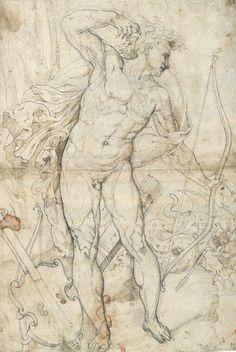Risultati immagini per dessin Male Figure Drawing, Guy Drawing, Drawing Poses, Drawing Sketches, Art Drawings, Renaissance Portraits, Drawing Studies, Learn Art, Arte Horror