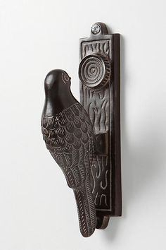 Woodpecker Door Knocker - anthropologie.com