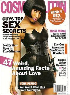 Cosmopolitan Magazine,Nicki Minaj,November 2011~NEW
