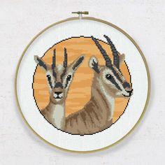 Baby Gazelle Born Free Cross Stitch Kit DMC