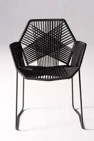 Delicate and Strong Black Chair Ideas Designed by Patricia Urquiola