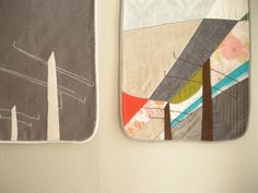 mini quilts by Elsie Marley