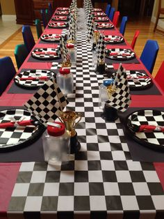 4-wheeler/cars/Checkered flag birthday
