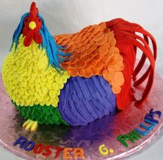 Somebody better get me a cock cake for my 40th! Assets/images/Rooster G Phillips 42nd Birthday Cake126210111 Stdjpg
