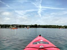 One of the best ways to take in the Finger Lakes is by kayak. There is just something about kayaking in the Finger Lakes and watching the lake change as you are a part of it. Pictured above, some friends and I were out for a paddle on Canandaigua Lake - to Squaw Island!