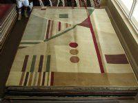 Contemp area rug