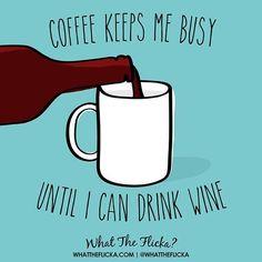 "whattheflicka: ""Mentally that is. Wine Wednesday, Wine Drinks, Embedded Image Permalink, Humor, Mugs, Instagram Posts, Photos, Humour, Moon Moon"