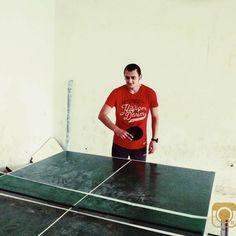 Playing ping-pong