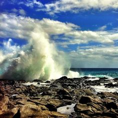 Another photo of Hawaii's incredibly powerful & beautiful waves! Tidepools at Makapu'u Jordan Segundo  @Jordan_Segundo