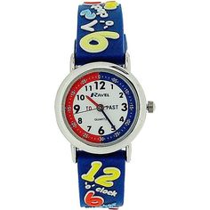 Ravel Boys Know Your Numbers Design Time Teacher White Dial Watch Knowing You, Numbers, Teacher, 3d, Watches, Boys, Design, Baby Boys, Children