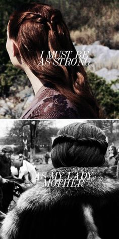 Sansa Stark: Your mother would want you to carry on. #got #asoiaf