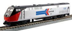 Kato HO 376104 GE P42 Genesis, Amtrak Phase I (40th Anniversary Scheme) #156 | ModelTrainStuff.com
