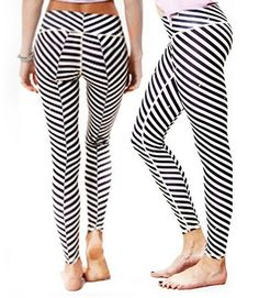Yoga High-Waist Zebra Leggings