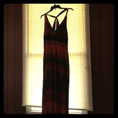 Maxi Dress Maxi dress, beautiful colors,comfortable, always got compliments on it Dresses Maxi