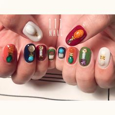 Having short nails is extremely practical. The problem is so many nail art and manicure designs that you'll find online Short Nail Designs, Cute Nail Designs, Nail Manicure, Nail Polish, Express Nails, Beauty Nail Salon, Space Nails, Short Nails Art, Autumn Nails