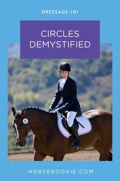 Remove the mystery around the perfect circle in dressage. Learn how to use your hands, legs, and body to ride a balanced circle in the dressage ring. Horse Riding Tips, Success Coach, A Perfect Circle, Horse Stuff, Horseback Riding, Lessons Learned, Dressage, Equestrian, Mindset