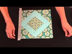 (6) Quilt As You Go, Pre-Printed Cotton Batting - YouTube