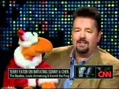 Terry Fator at Larry King Live over Christmas 2010 part 2 / 3