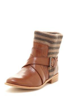 Splendid Toronto Bootie   Love a stripe shoe!