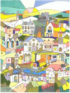 Design chosen for Launceston Town Guide 2013.
