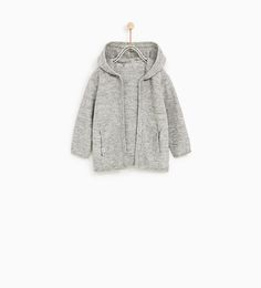 ZARA - COLLECTION AW/17 - OPEN CARDIGAN WITH HOOD