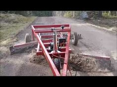 Vägsladd - YouTube Skid Steer Attachments, Tractor Attachments, Diy Welding, Welding Projects, Tractor Loader, Tractor Implements, Farm Tools, Diy Home Repair, Utility Trailer