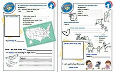 AHG Pen Pal Ideas: Let your pen pal know  who you are.