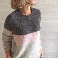 520 Likes, 48 Comments - Вязан Sweater Knitting Patterns, Knitting Designs, Knit Patterns, Baby Knitting, How To Purl Knit, Knit Picks, Crochet Clothes, Knitwear, Crafts