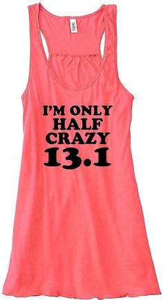 Half Crazy: I AM CRAZY... because I completed a half marathon in 2009! :)