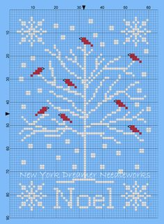 Counted Cross Stitch Design by Ezia Gladstone - freebies