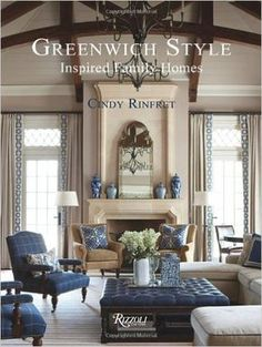 Greenwich Style: Inspired Family Homes. Greenwich Style: Inspired Family Homes – Ad Hoc Home. Traditional House, Family Room Design, Elegant Homes, House Styles, House Interior, French Country Living Room, Traditional Interior Design, Home Interior Design, Living Decor