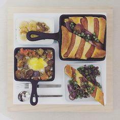 . good morning tuesday :-D))) . #goodmorning #morning #breakfast #yummy #goodfood #instafood #onthetable  #homemade #foodie #foodstagram #foodphotography #foodphoto #yum #2eat2gether #top_food_of_instagram #S_S_iloveBreakfast #朝食 #早餐 #朝ごパン #パンケーキ #pancake #ovenpancake #dutchbaby #烘培 #baking #鬆餅 #鐵鍋鬆餅 #奶油洋蔥豆蒜味腸鐵鍋鹹鬆餅