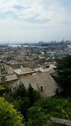 Panorama da Castelletto Genova